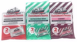 Fishermans Friend Cough Suppressant Lozenges, 3pk - Variety Set