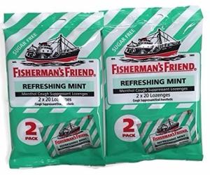 Fishermans Friend Cough Suppressant Lozenges, Sugar Free, 2pk - Mint