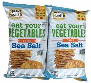 Good Health - Eat Your Vegetables Chips, 2pk - Sea Salt