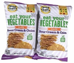 Good Health - Eat Your Vegetables Chips, 2pk - Sour Cream & Onion