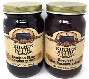 Kitchen Kettle Village - Seedless Black Raspberry and Red Raspberry Jam