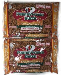 Pennsylvania Dutch Whole Grain Egg Noodles, Wide Ribbon, 2pk