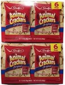 Stauffer's Animal Crackers Original, Snack Packs, 12pk