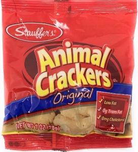 Stauffer's Animal Crackers Original, Snack Packs, 20pk