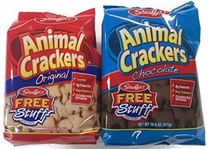 Stauffer's Animal Crackers Variety, Chocolate & Original, 2pk